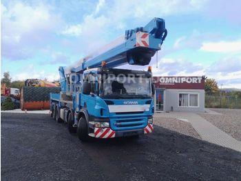 Truck mounted aerial platform Scania P380 + WUMAG WT 610 GERMAN