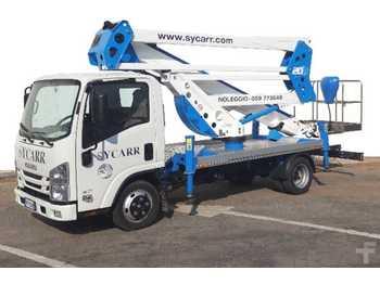 Truck mounted aerial platform Socage 20 D