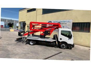 Truck mounted aerial platform Socage DA 20 Nissan