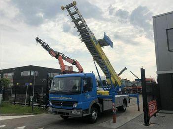 Truck with aerial platform Mercedes-Benz ATECO 818 MET KLAAS 39 METER VERHUISLIFT
