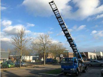 Truck with aerial platform Nissan BOCKER VERHUISLIFT 30 METER