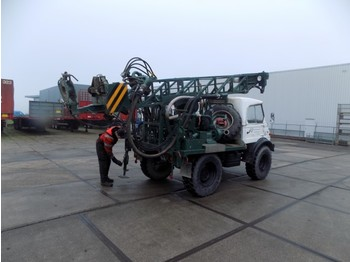 Unimog boormachine 406 - construction machinery