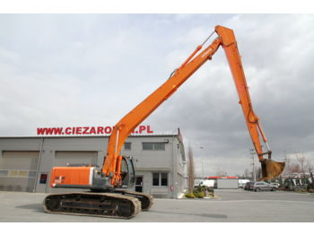HITACHI CRAWLER EXCAVATOR 30 T ZX 280 LC-3 LONG REACH - waste/ industry handler