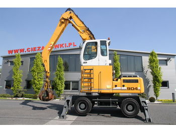 LIEBHERR MATERIAL HANDLER 26 T A904C HD LITRONIC GRAB - waste/ industry handler