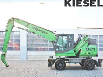 Waste/ industry handler Sennebogen 821 M