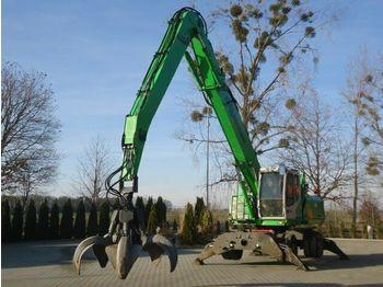 Waste/ industry handler Sennebogen 825 Umschlagbagger 10.389 h - 28 Ton: picture 1