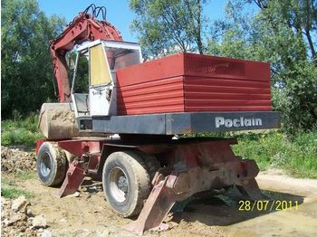 Wheel excavator CASE POCLAIN 80 wheel excavator: picture 1