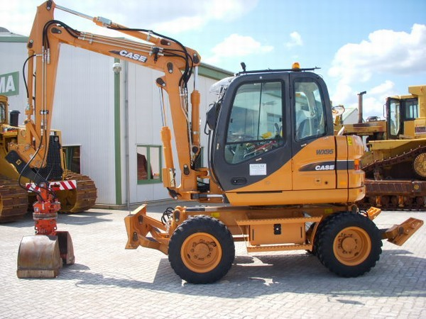 case wx 95 wheel excavator from germany for sale at truck1 id 565865. Black Bedroom Furniture Sets. Home Design Ideas