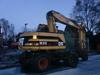 Caterpillar M312 - wheel excavator