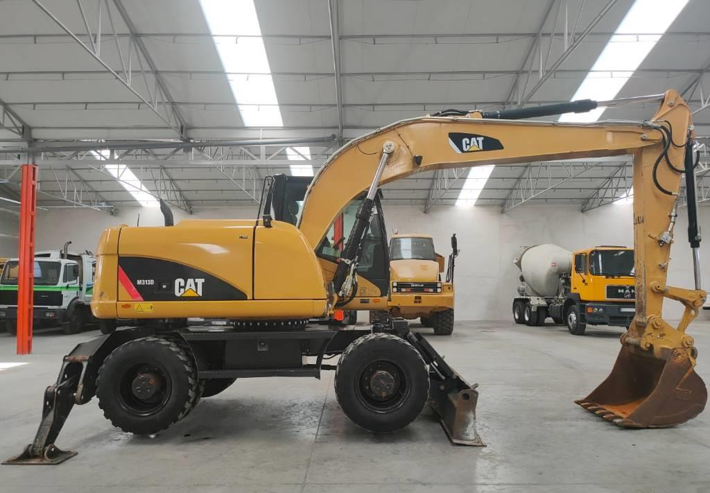wheel excavator Caterpillar M 313 D
