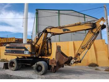 Wheel excavator Caterpillar M 318