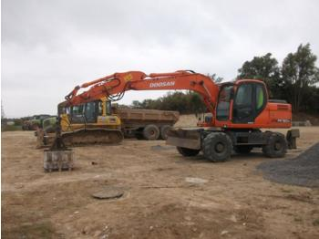 Doosan DX160W - wheel excavator
