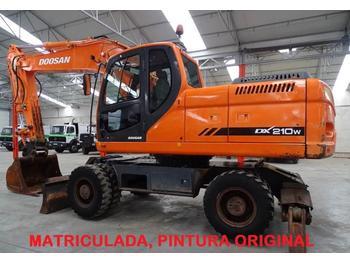 Wheel excavator Doosan DX 210 W