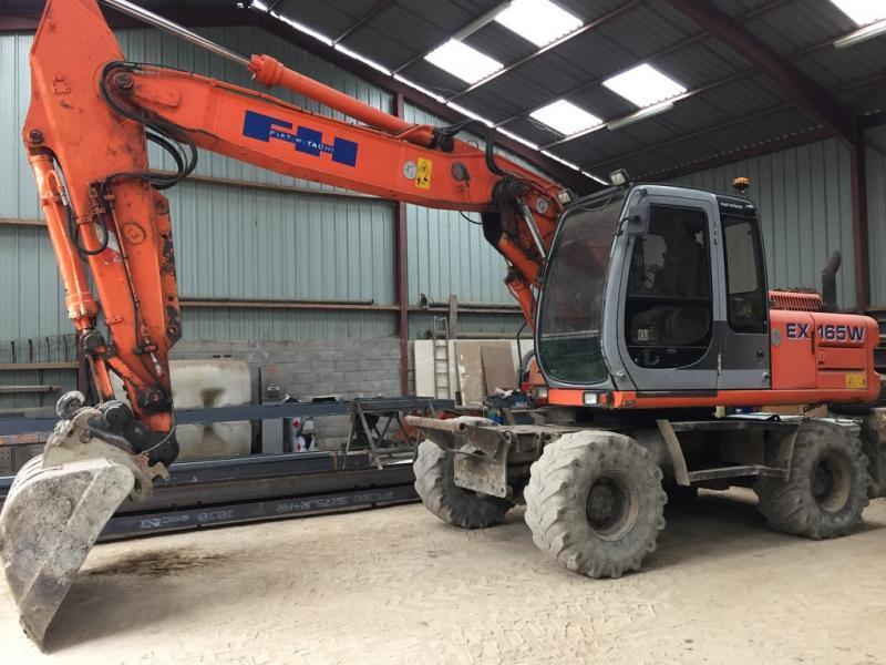 Wheel excavator FIAT HITACHI EX165W - Truck1 ID: 3098378