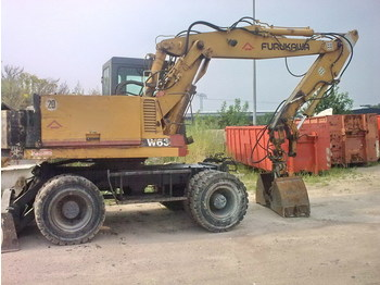 Furukawa W 630 E/ Mobilbagger - wheel excavator