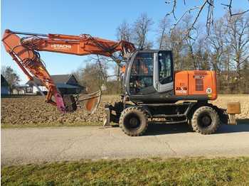 Wheel excavator HITACHI ZX 190W-3