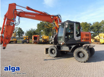 Wheel excavator Hitachi ZX140W