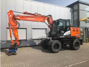 Wheel excavator Hitachi ZX140W-6 (DEMO)