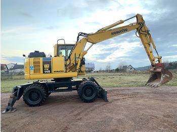 Wheel excavator KOMATSU PW 148 PW148 140 160 180 financing EU