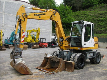 Wheel excavator LIEBHERR A309 POWERTILLT 3 buckets