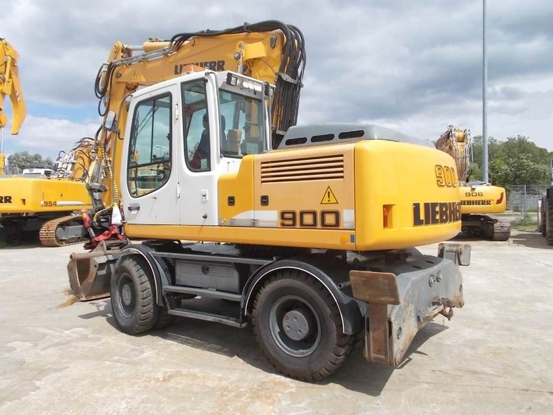 Liebherr A900c Litonic Wheel Excavator From Germany For Sale At Truck1  Id  2224817