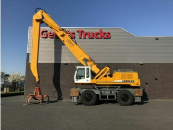 Wheel excavator Liebherr 954 B MATRIAL HANDLER WITH GRAPPLE