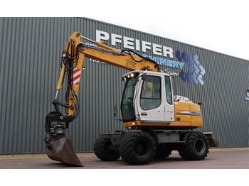 Wheel excavator Liebherr A312 Litronic Valid Inspection Till 01-2021, Nox T