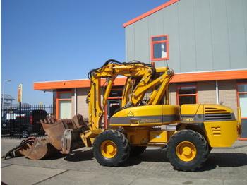 Wheel excavator MECALAC 12 MTX + Attachments