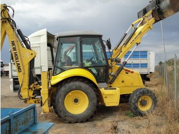 New Holland LB 95.B - wheel excavator