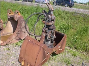O & K Greifer mit Zähne - wheel excavator