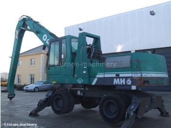 O&K MH 6 - wheel excavator