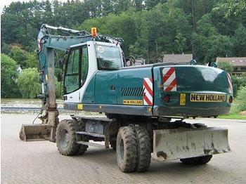 O & K MH 6.6 - wheel excavator