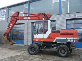 O & K MH 6 Bj.94 - wheel excavator