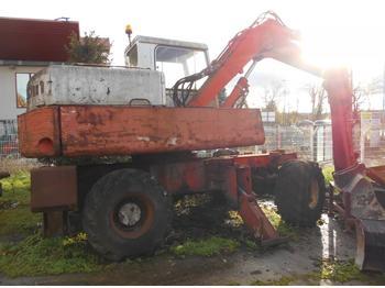 Wheel excavator Poclain 60