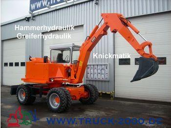 SCHAEFF HML 30 4x4 Mobilbagger/ Knickmatik/ Greiferhydr. - wheel excavator