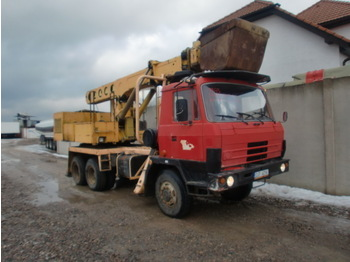 TATRA 815 P17 6x6 UDS - wheel excavator