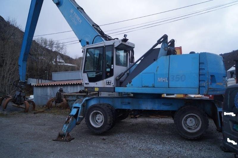 Wheel excavator Terex Fuchs MHL 350 - Truck1 ID: 2227283