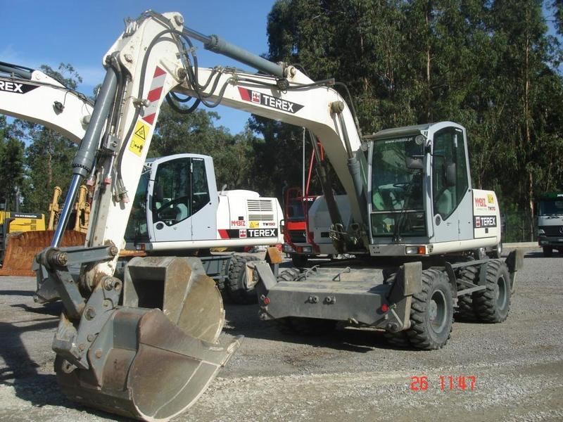 Terex Tw170 Wheel Excavator From Portugal For Sale At