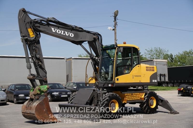 Volvo 2008 16 T Ew 140c Wheel Excavator Very Good Wheel