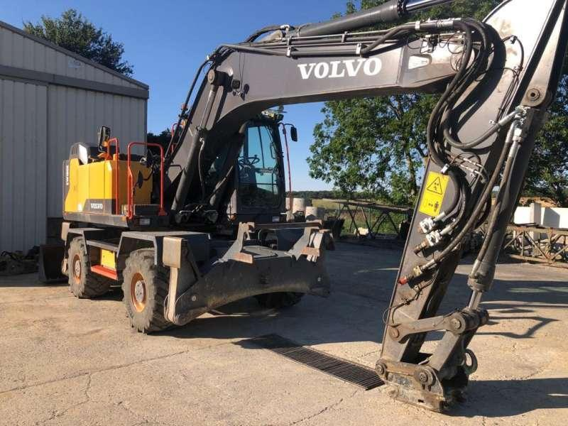 Excavator excavator wheel volvo ew180e construction plant btp motorart 1//50