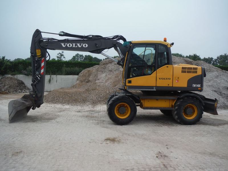 Volvo Ew 140 C Wheel Excavator From Netherlands For Sale