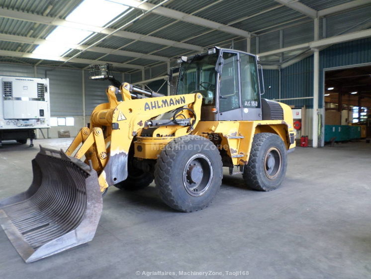 wheel loader AHLMANN AZ150