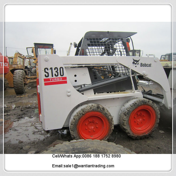 wheel loader BOBCAT S130