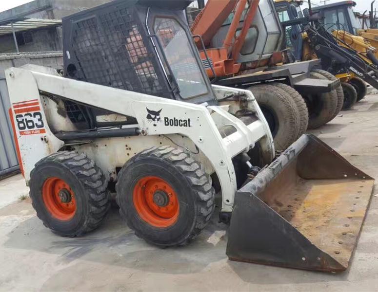 wheel loader BOBCAT S863
