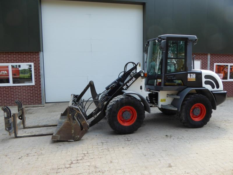 Bobcat Al 350 Wheel Loader From Netherlands For Sale At