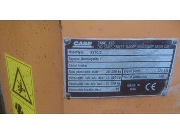 Wheel loader CASE 921 C