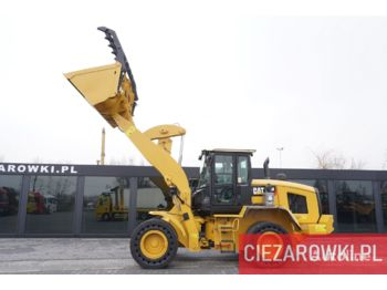 Wheel loader CATERPILLAR 938M , 17.5t , grab bucket , auto-greasing , cab air filter , jo