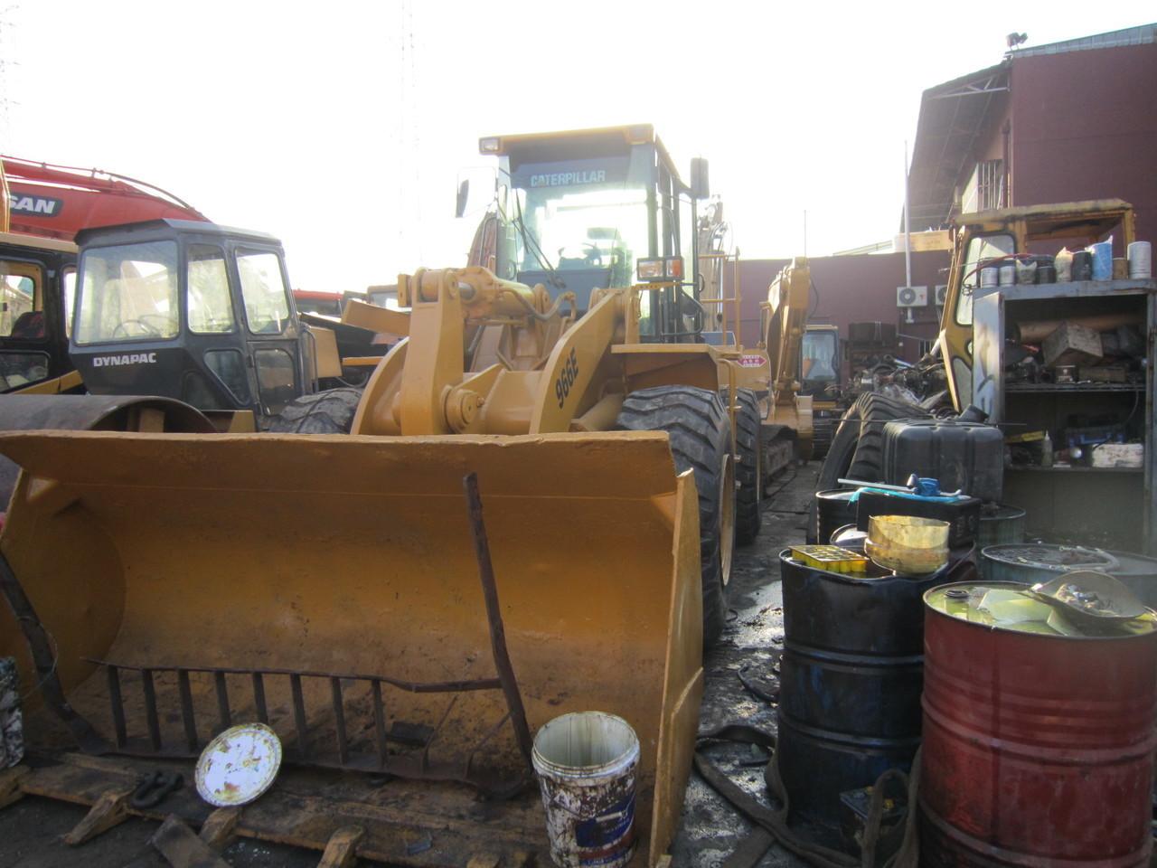 wheel loader CATERPILLAR 966E