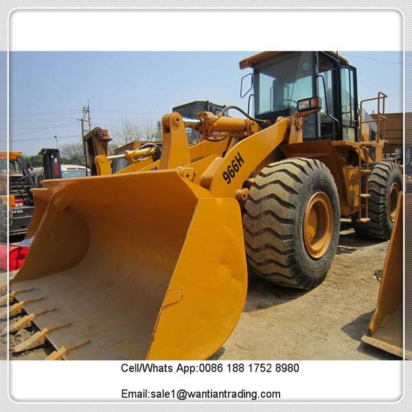 wheel loader CATERPILLAR 966H