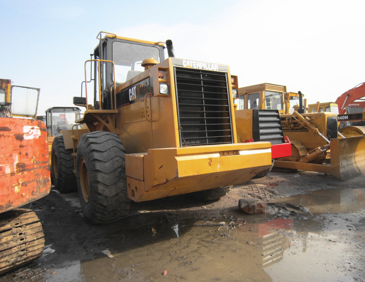 Wheel loader CATERPILLAR 980F: picture 6